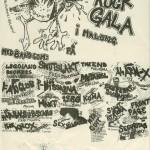 konsertaffisch midsommar 1980